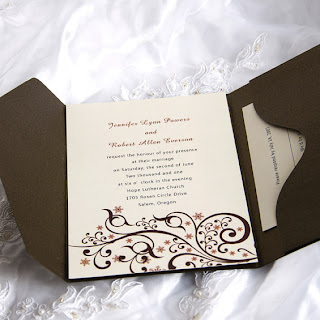 Neutral Wedding Invitations