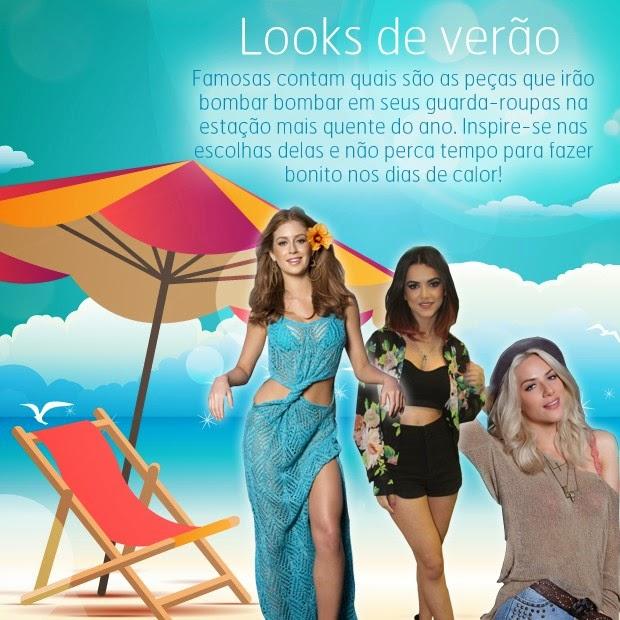 Tendências da moda: Celebridades contam quais são seus looks de verão preferidos