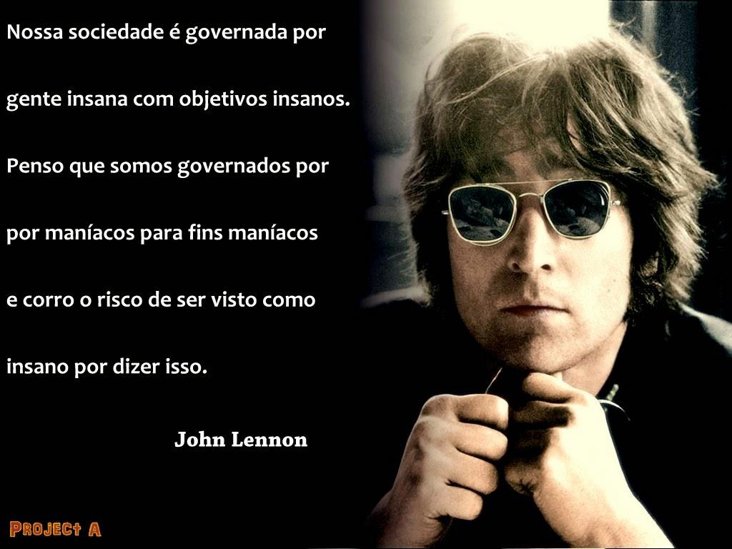 Projeto A 9 Frases De John Lennon Que Vão Mudar Sua Vida