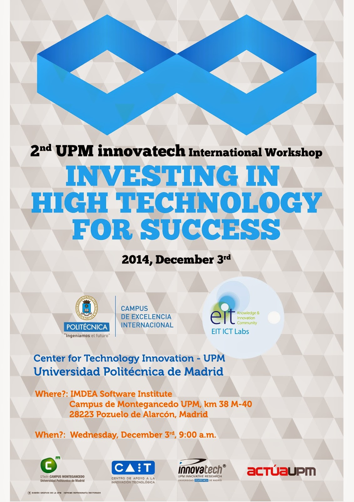 2nd UPM innovatech International Workshop