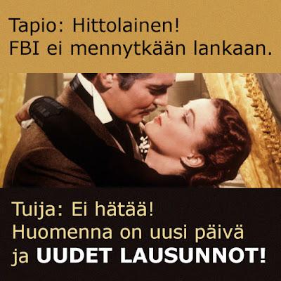 Tuija Niemi vs FBI - äkillinen virka-apu Tapio Santaojalle v. 2009