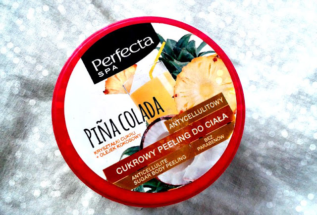 Dax Cosmetics, Perfecta SPA, Antycellulitowy cukrowy peeling do ciała `Pina Colada`