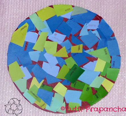 Craft Ideas  Pista Shells on Will Help Earth   Writing Activity For Kids  Readforgood   Putti S