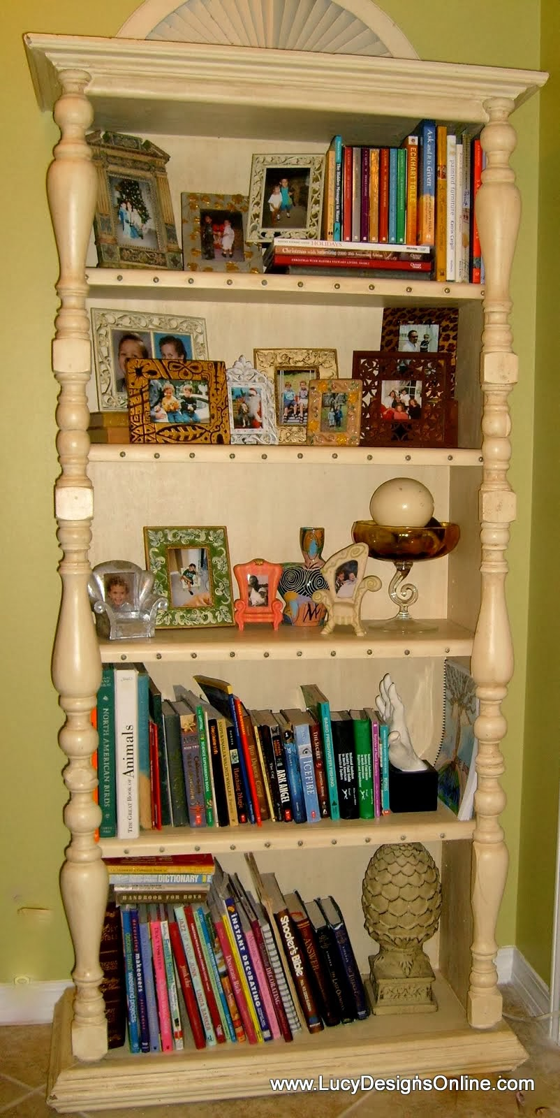 diy bookshelf repurposed makeover