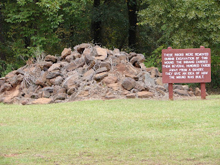 Rock Piles Kolomoki Mound State Park