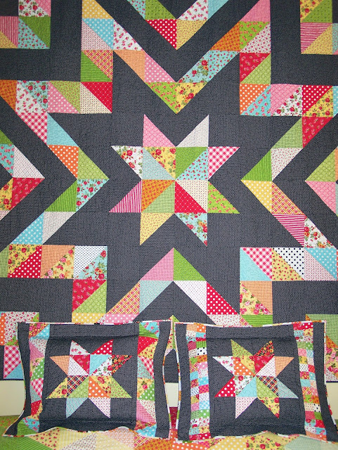 Busy Hands Quilts King Size Sparkle Plenty Quilt In Dogwood Trail