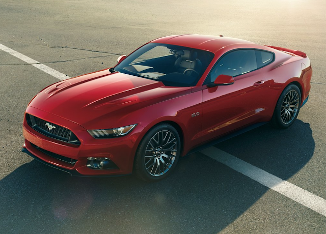 2015 Ford Mustang GT 5.0 red