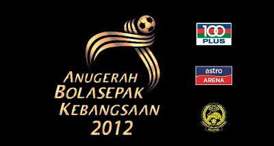 Anugerah Bola Sepak Kebangsaan 100Plus, Astro Arena & FAM 2012