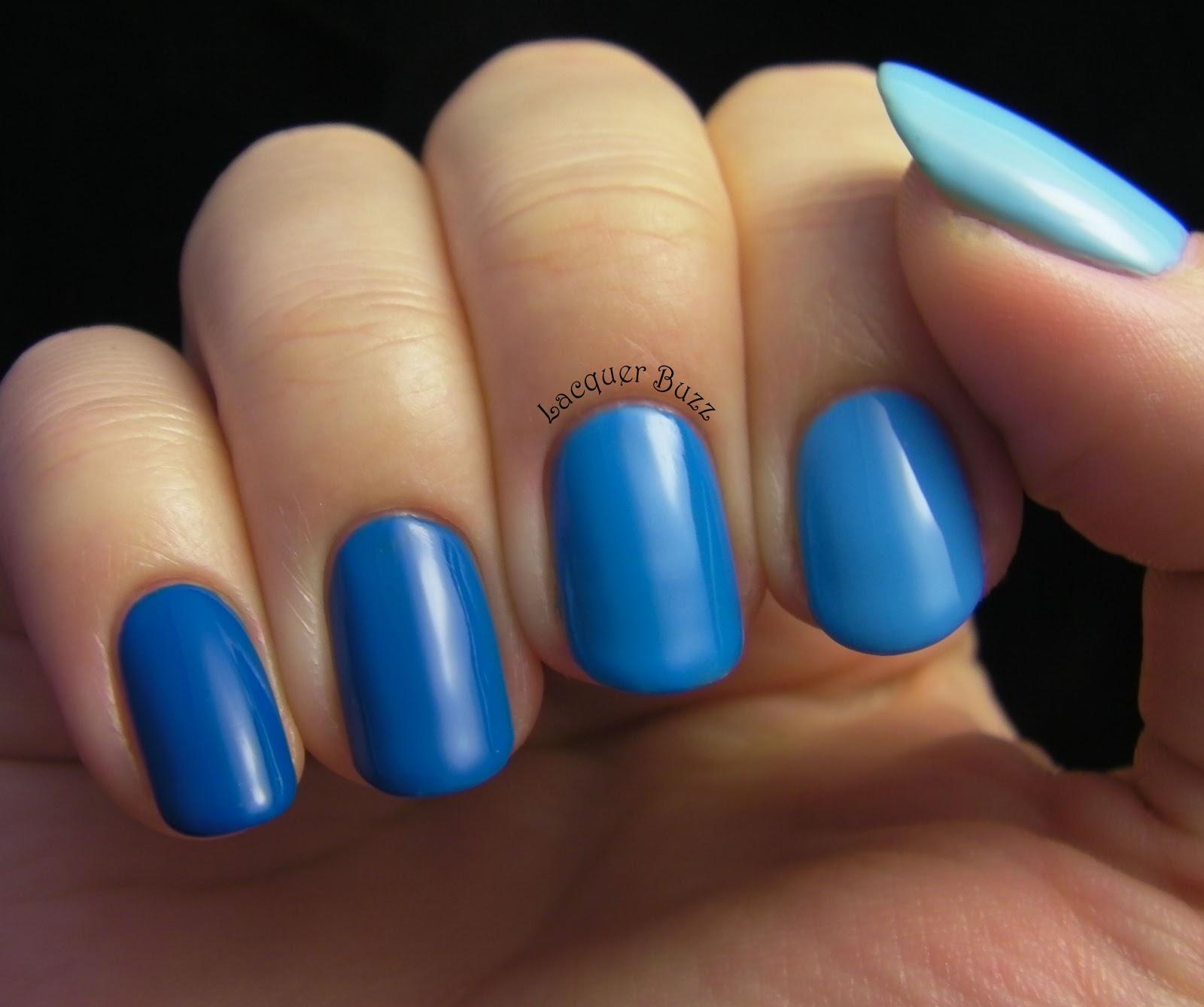 Lacquer Buzz: Monday Blues: Ombre Nails