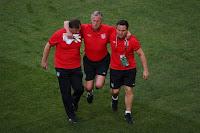 Pelatih Inggris Cedera, Ray Clemence