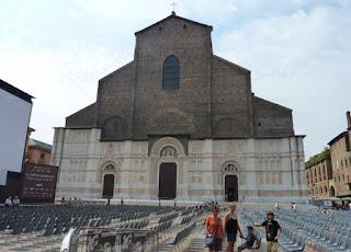 Bolonia,Basílica de San Petronio.