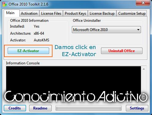 Microsoft office 2010 + activador