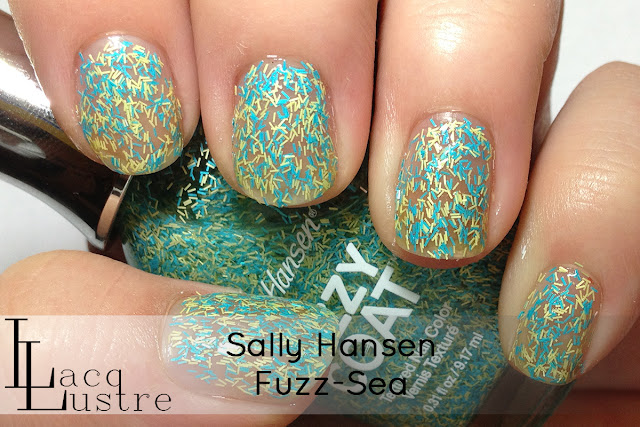 Sally Hansen Fuzz-Sea swatch
