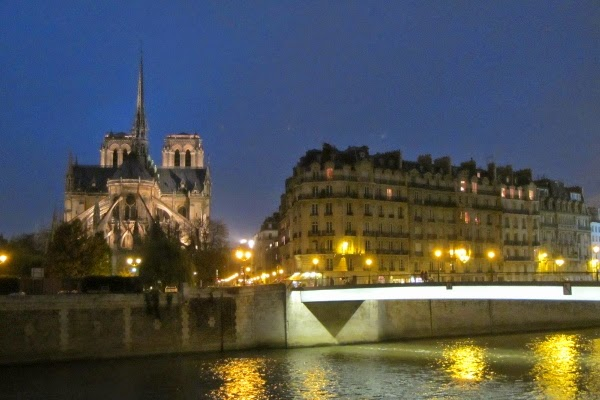 Walking to this view of Notre Dame in just a few minutes each night? Priceless.