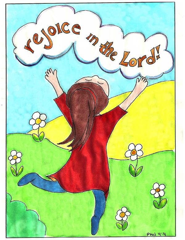 philippians 44 - Philippians 4 6 Coloring Page