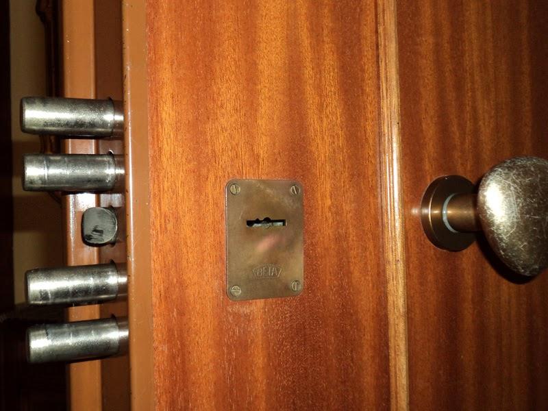 Sostituzione serrature padova fabbro per assistenza porte - Doppia serratura porta blindata ...