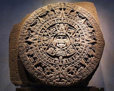 En el Calendario Azteca están plasmadas las cuatro Eras o Soles del mundo Náhuatl