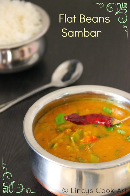 Flat Beans Sambar