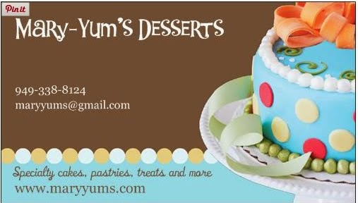 Mary-Yum's Dessert Catering