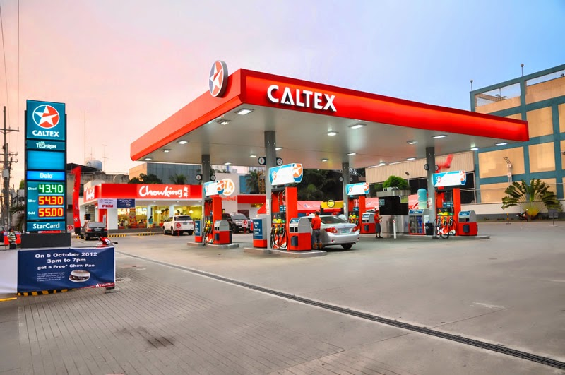 Caltex Gasoline Station