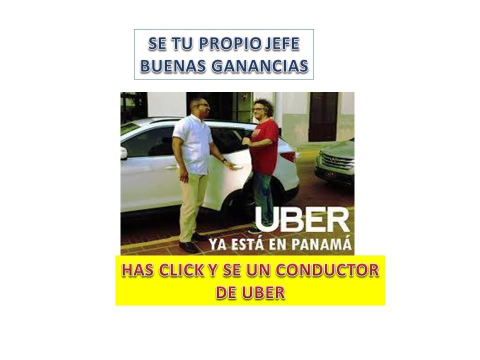 UBER TE DA BUENOS INGRESOS HAS CLICK LLENA EL FORMULARIO