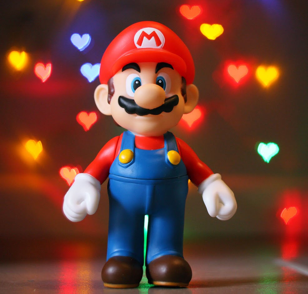 mario is valentine mood