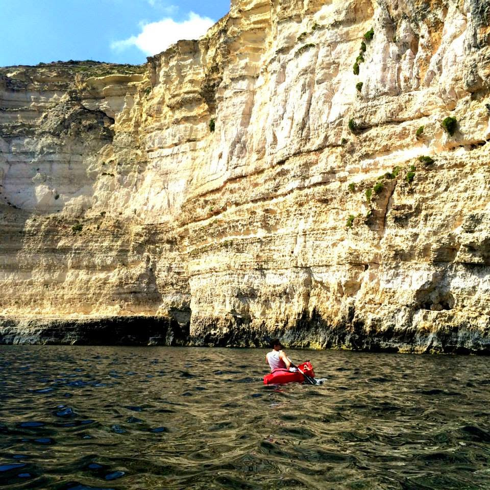 Kayaking at Gozo