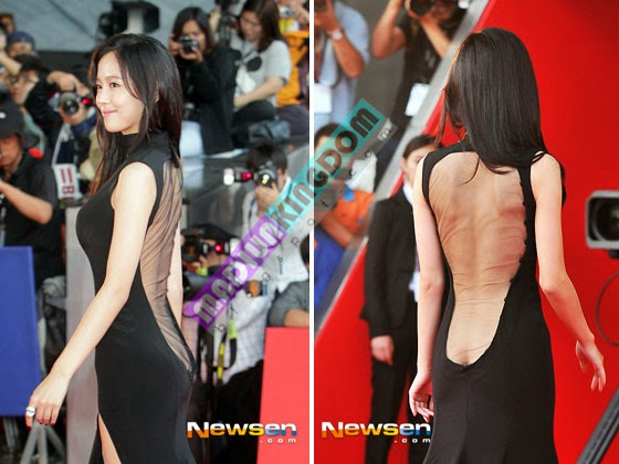 Kang Hanna in 18th BIFF 3 Foto Hot: Artis Korea Han So Ah dan Kang Hanna di International Film Festival