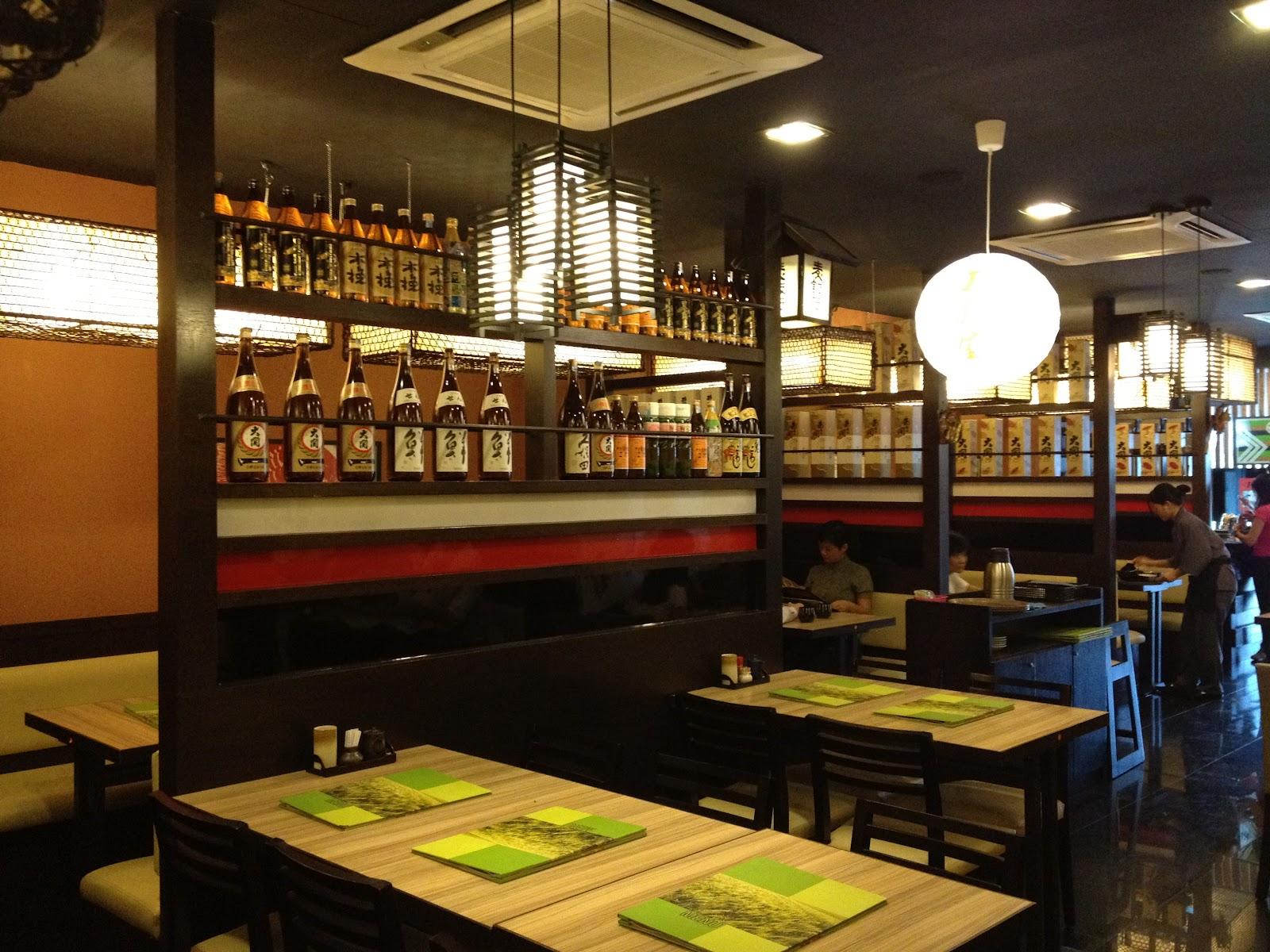 Cheng lavie tosaya japanese restaurant cheras midah for Asian cuisine restaurant