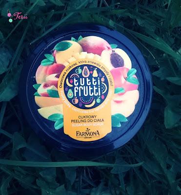 Owocowe Tutti Frutti Od Farmony, Peeling Do Ciała Brzoskwinia i Mango