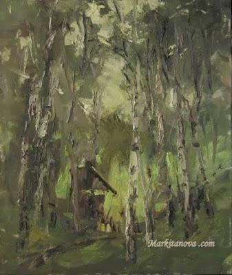 Днепропетровск, Gellery Telega - Светлана Маркитанова, Opus, живопись