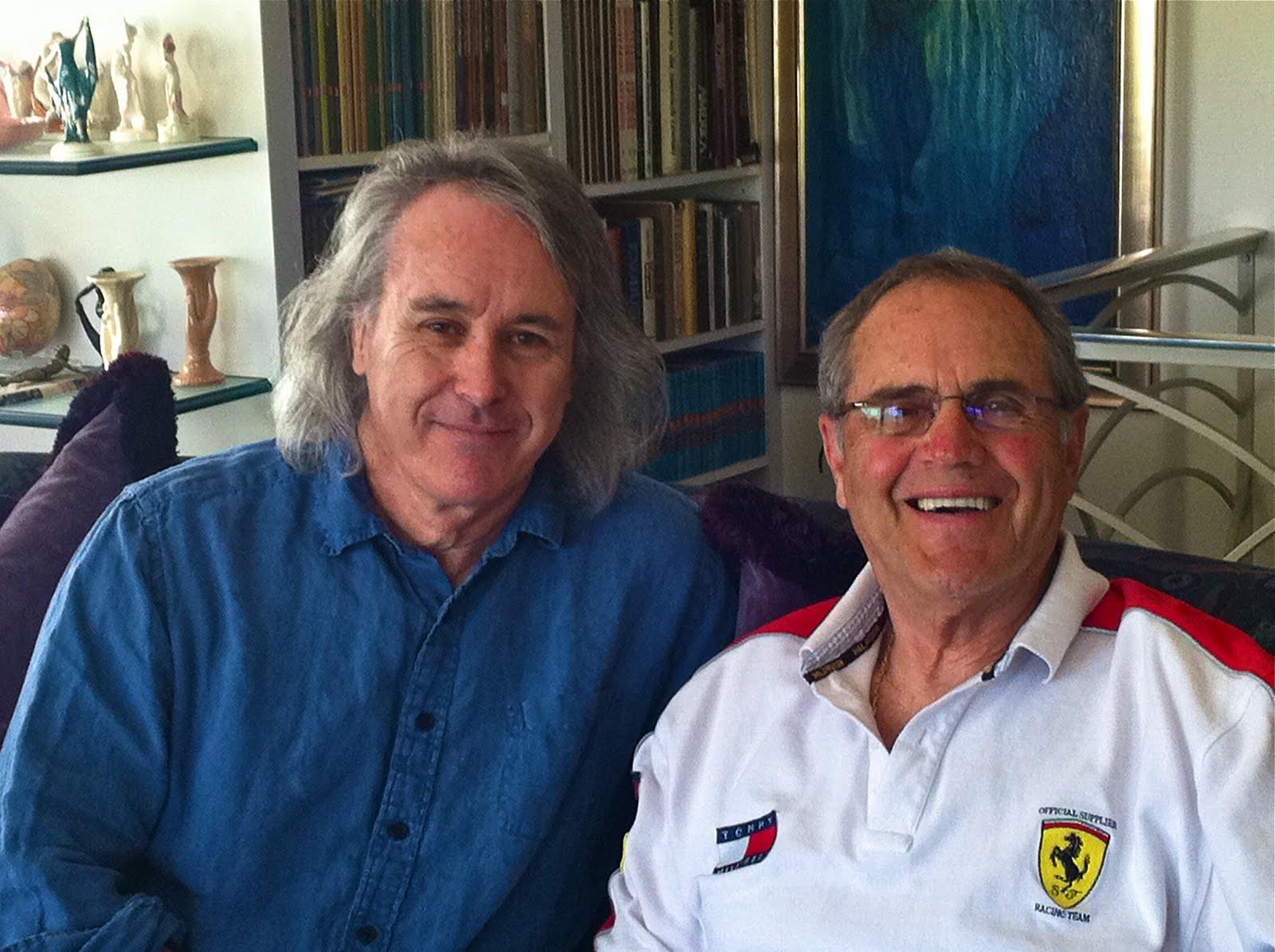 meeting Enzo Ferrari and