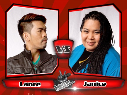 Janice Javier vs Lance Fabros | The Voice of the Philippines Battle Rounds