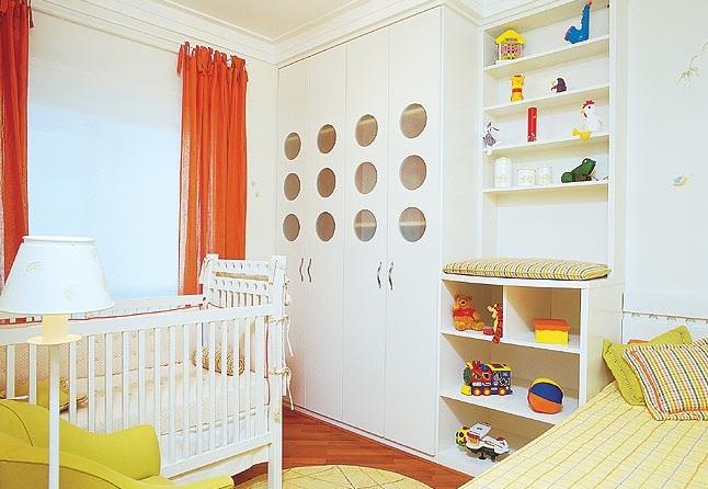 Suficiente Guarda Roupa Quarto Infantil Planejado – Redival.com FR73