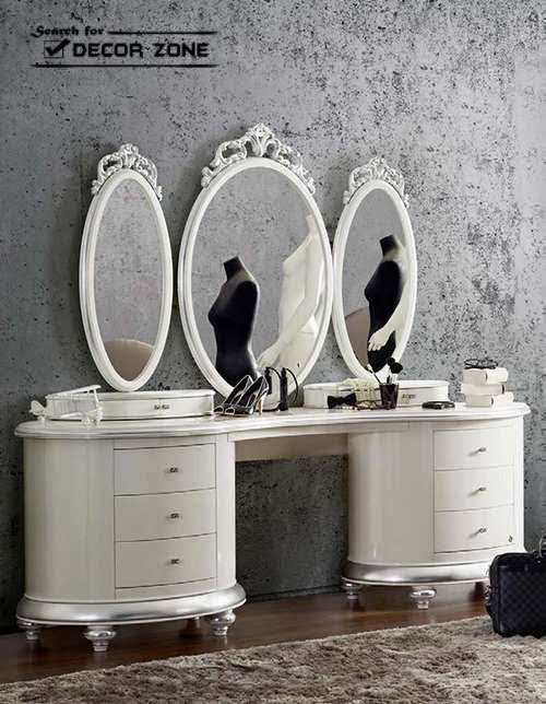 20 Mirrored Dressing Table Designs And Decorating Ideas