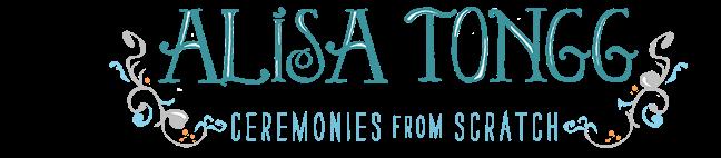 Alisa Tongg Celebrant Blog