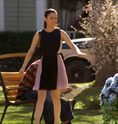 "Zoe's O'2nd Pleated Dress Hart of Dixie Season 2, Episode 17: ""We are Never Ever Getting Back Together"""