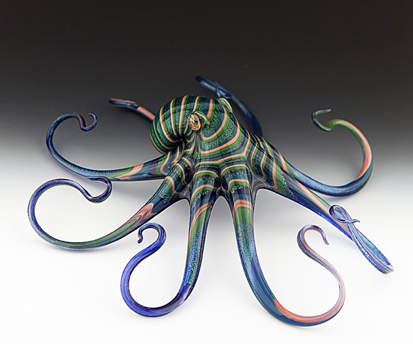 12-Octopus-Scott-Bisson-Glass-Sea-and-Land-Animals-www-designstack-co