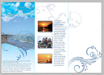 cara membuat brosur dengan photoshop, belajar photoshop, pemula, cs6, brush floral, masukkan keterangan