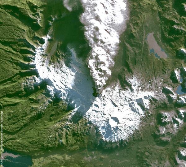 Puyehue Cordon-Caulle, selatan Santiago, Chile