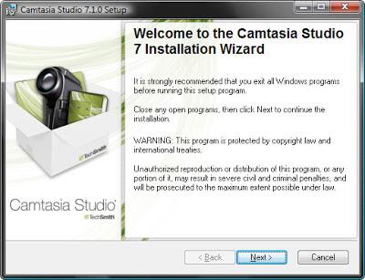 Установка программы Camtasia Studio для записи видео с экрана