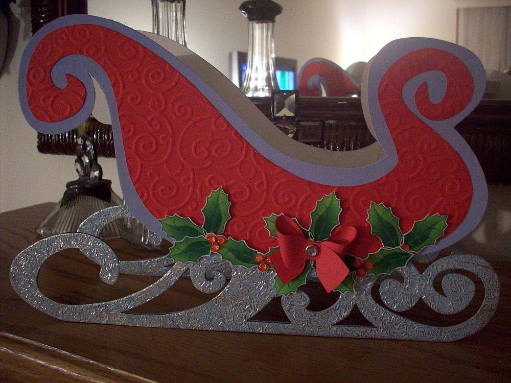 santa on sleigh easy drawings besthomevercom auto design