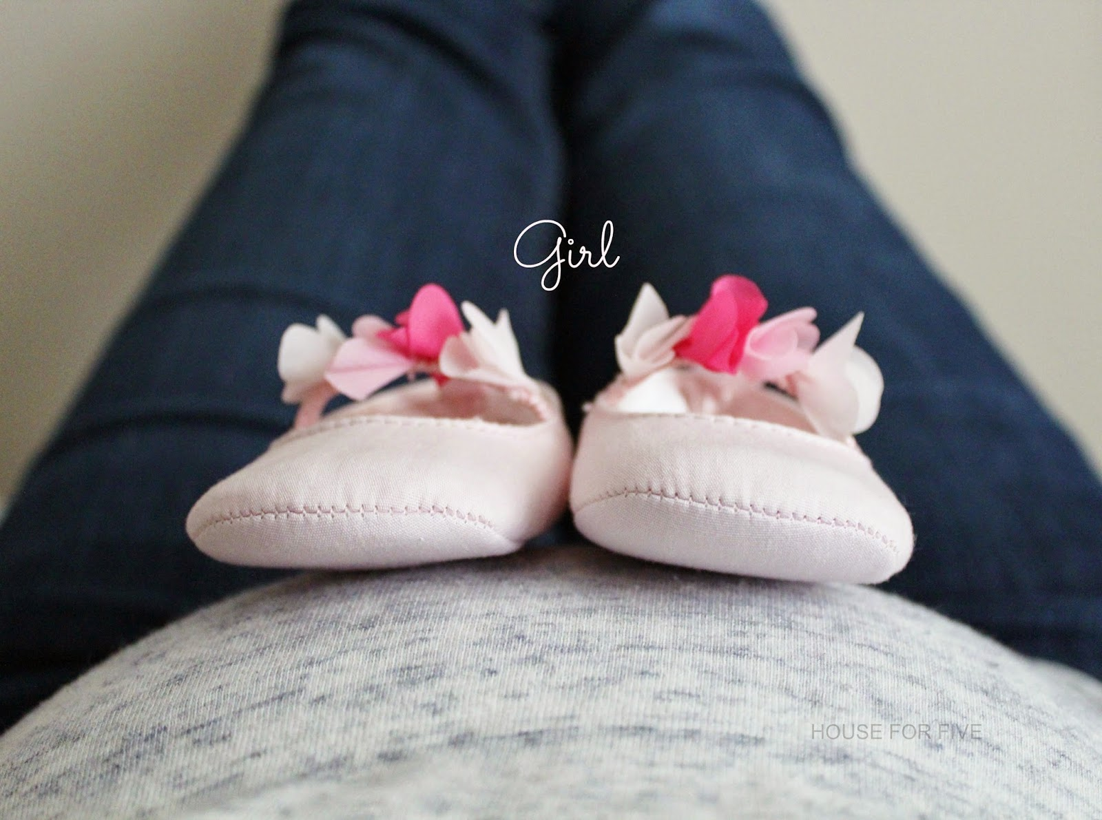 Sweet baby gender announcement