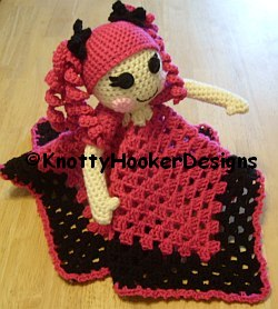 Free Crochet Patterns For Baby Loafers : Knotty Hooker Designs: Lalaloopsy Lovey