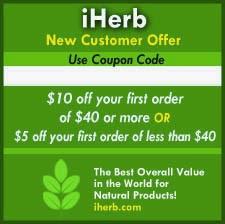 Discount pentru prima comanda Iherb!