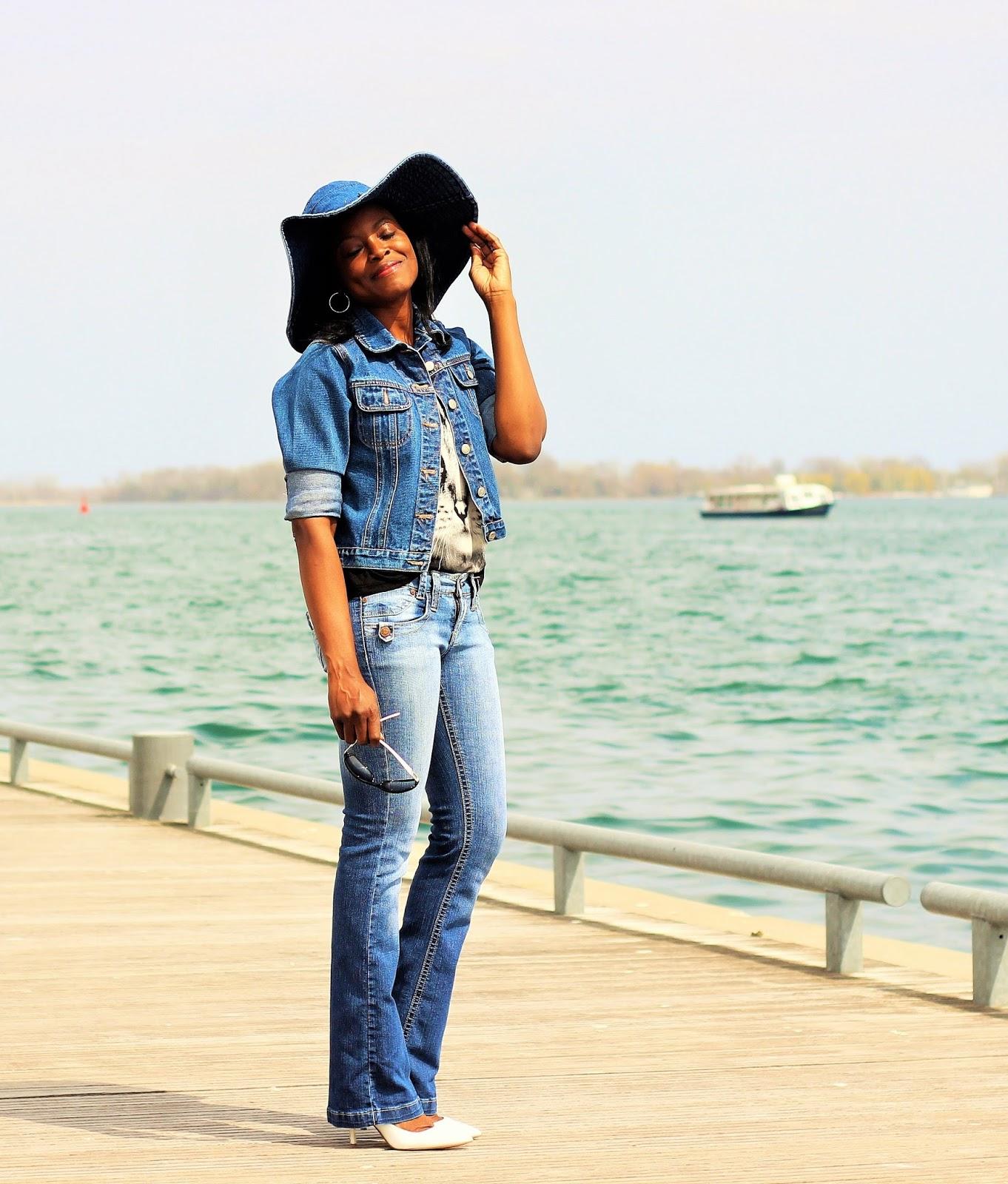 Jeans Jacket By E.K.O