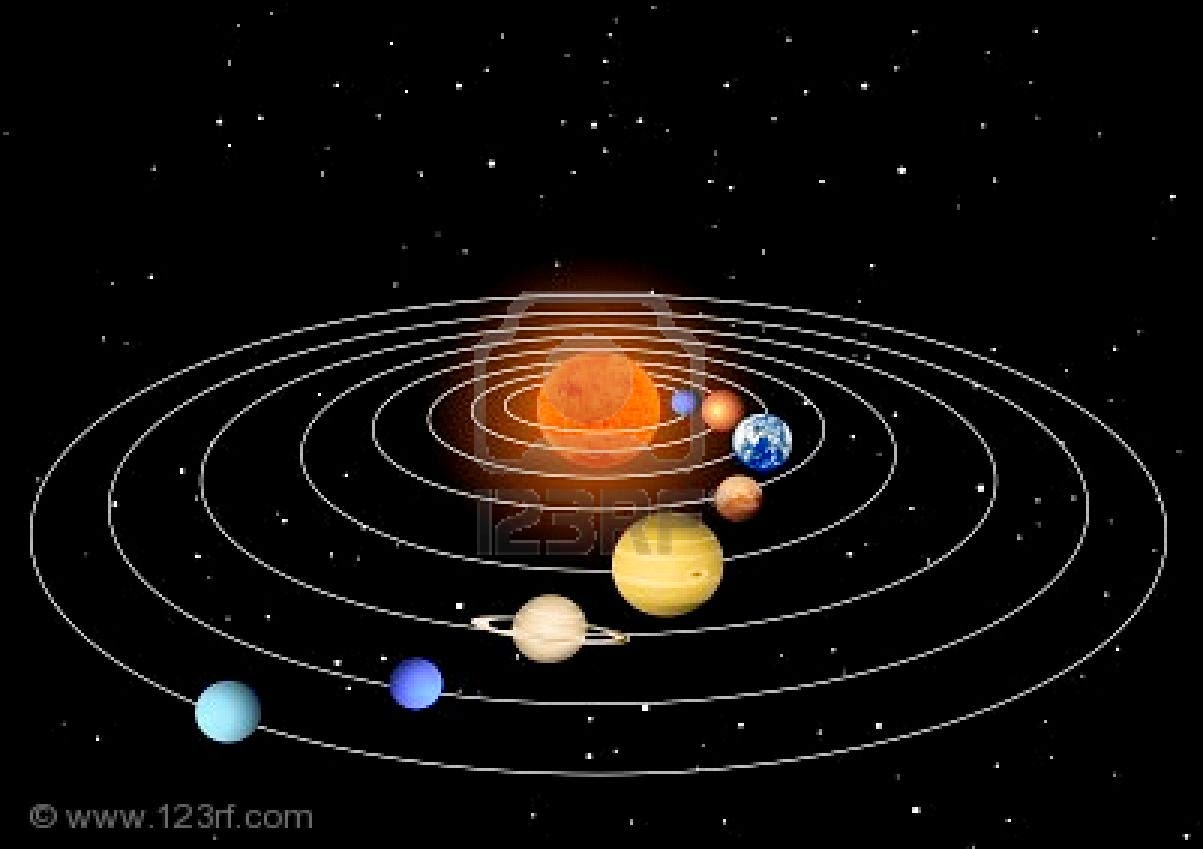 sun as center of solar system - photo #9