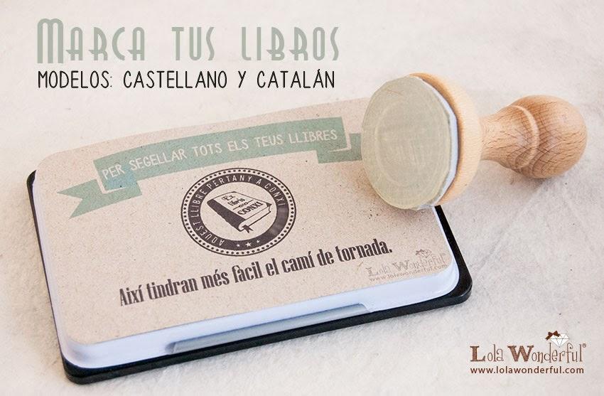Lola wonderful regalos personalizados y dise o para - Ex libris personalizados ...