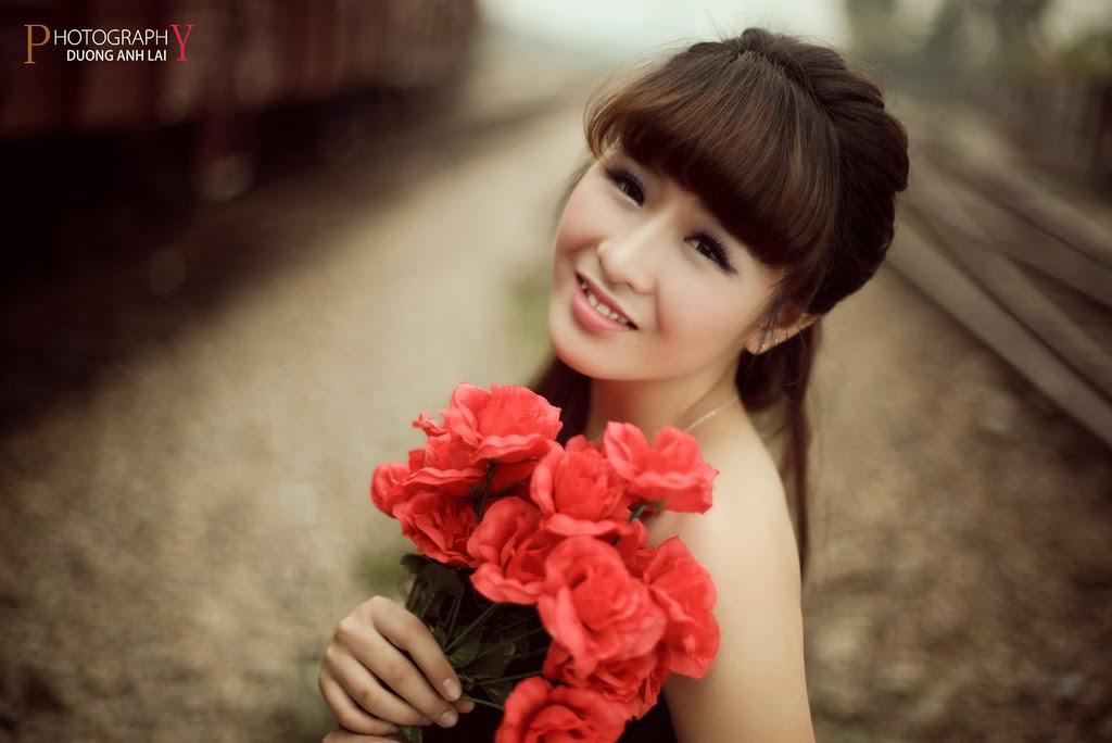 Ảnh đẹp girl xinh HD Việt Nam: Bóng hồng - Ảnh 12