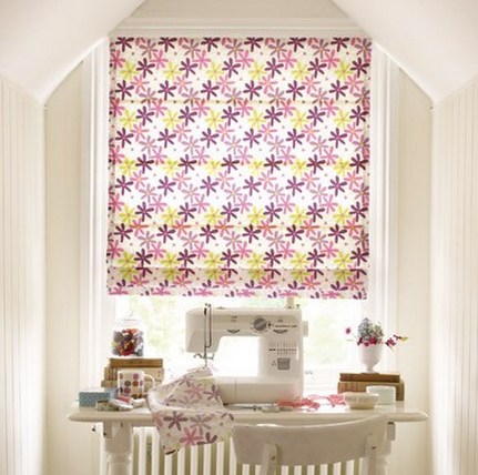 of roman blinds as I think that this would work much better in Roo s  window that a roller blind  I have found a beautiful daisy chain roman blind  that I. Building a little girls bedroom   Boo Roo and Tigger Too